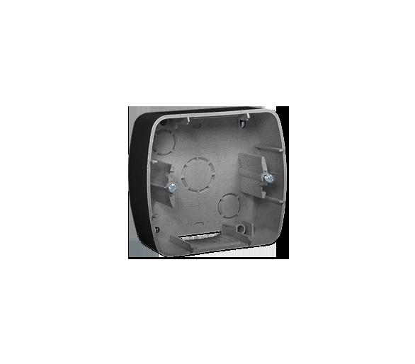 Puszka natynkowa 1-krotna aluminiowy, metalizowany