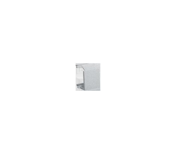 Zaślepka otworu wtyku RJ45/RJ12  pokrywy gniazda teleinformatycznego aluminium BWB-026