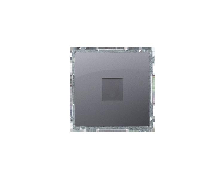 Zaślepka z mostkiem srebrny mat, metalizowany BMPS.01/43