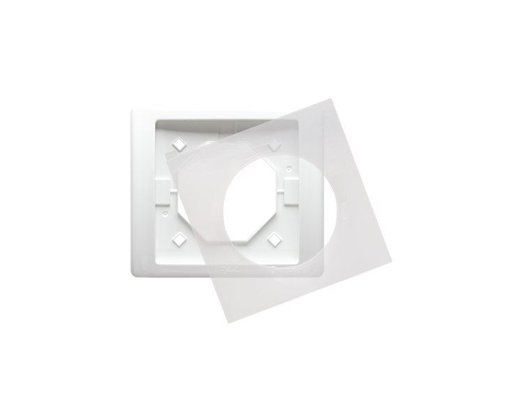 Ramka 1- krotna IP44 biały BMRC1B/11