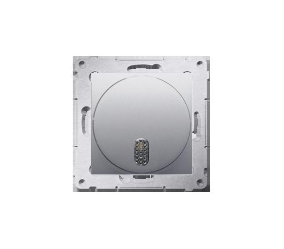 Dzwonek elektroniczny srebrny mat, metalizowany DDT1.01/43