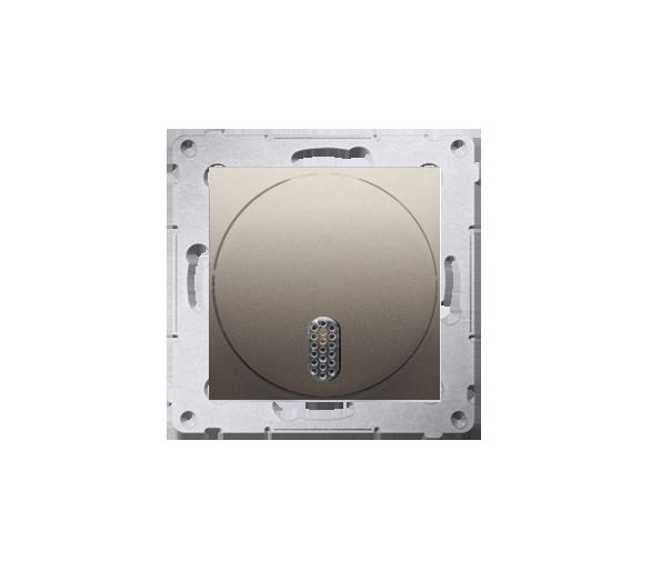 Dzwonek elektroniczny złoty mat, metalizowany