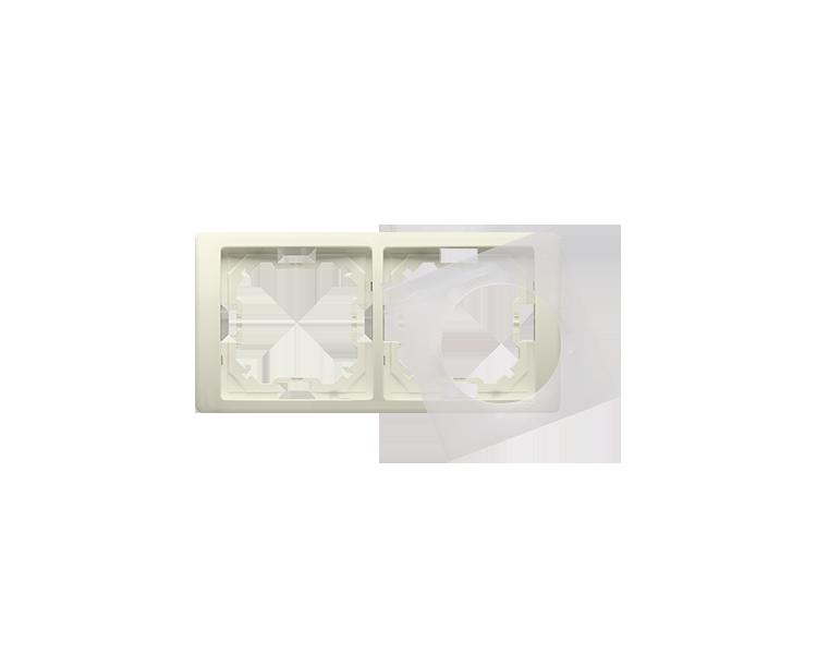 Ramka 2- krotna IP44 beżowy BMRC2B/12
