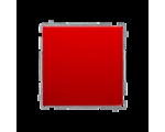Łącznik jednobiegunowy (moduł) 10AX 250V, szybkozłącza, czerwony BMW1.01/22