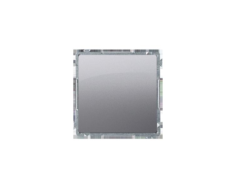 Łącznik jednobiegunowy (moduł) 10AX 250V, szybkozłącza, inox, metalizowany