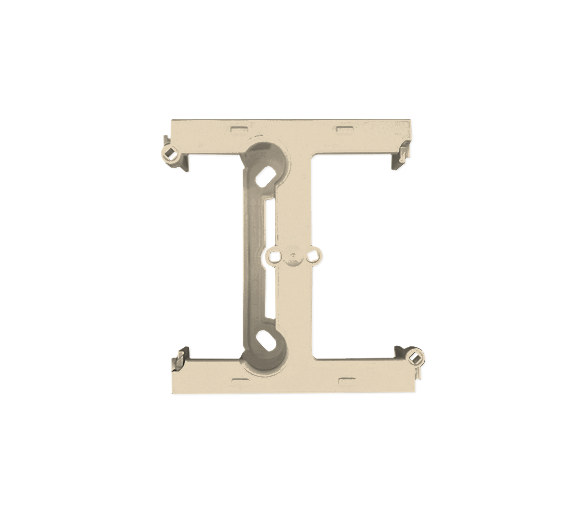 Puszka natynkowa – element rozszerzający puszkę pojedynczą składaną do ramek wielokrotnych beżowy