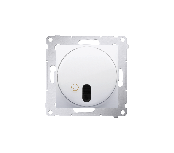 Łącznik z opóźnieniem wyłączenia z przekaźnikiem biały DWC10P.01/11
