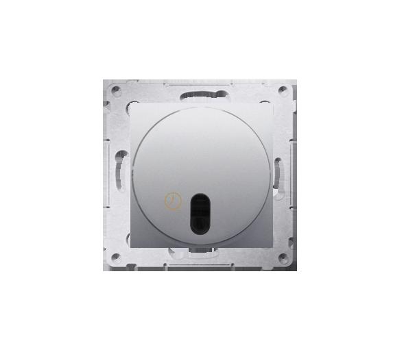 Łącznik z opóźnieniem wyłączenia z przekaźnikiem srebrny mat, metalizowany
