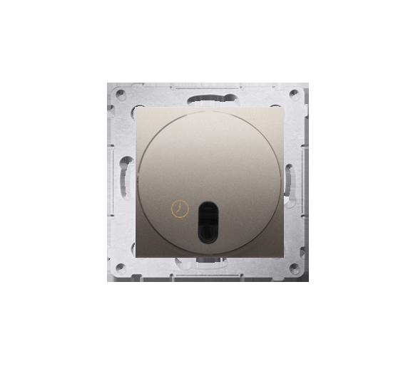 Łącznik z opóźnieniem wyłączenia z przekaźnikiem złoty mat, metalizowany DWC10P.01/44