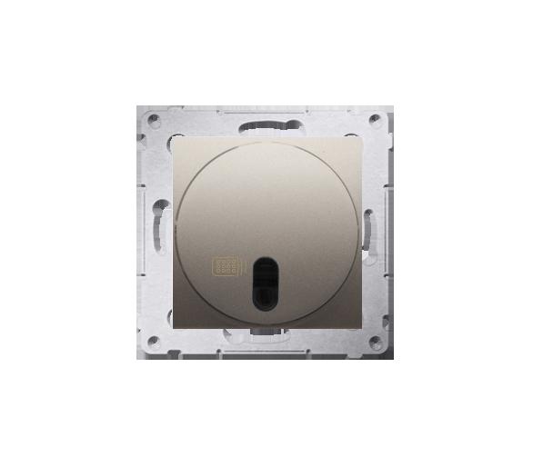 Łącznik zdalnie sterowany z przekaźnikiem złoty mat, metalizowany 8A DWP10P.01/44
