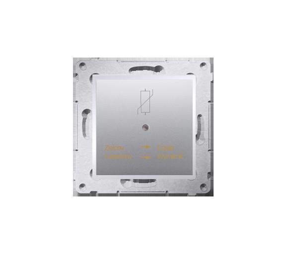Ochronnik przeciwprzepięciowy srebrny mat, metalizowany D75420.01/43