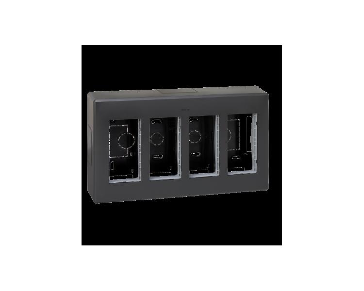 Obudowa natynkowa SIMON 500 4×S500 8×K45 szary grafit 51000004-038