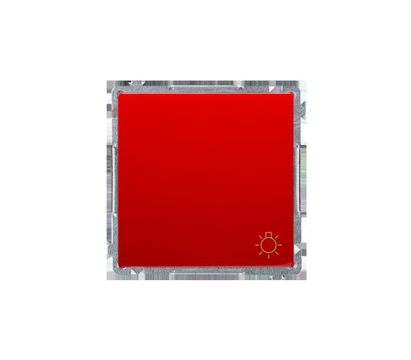 """Przycisk """"światło"""" (moduł) 10AX 250V, szybkozłącza, czerwony BMS1.01/22"""