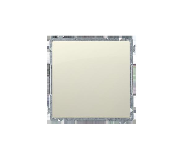 Przycisk pojedynczy rozwierny bez piktogramu (moduł) 10AX 250V, szybkozłącza, beżowy BMPR1.01/12