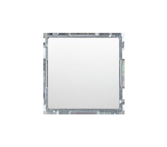 Przycisk pojedynczy zwierny bez piktogramu (moduł) 10AX 250V, szybkozłącza, biały BMP1.01/11