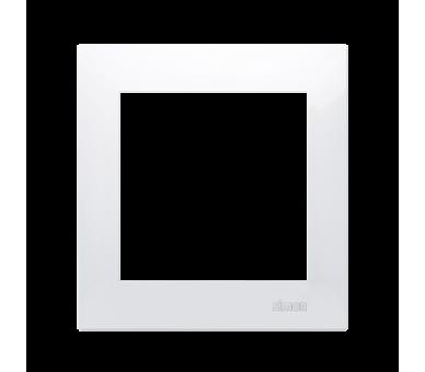 Ramka 1- krotna biały DR1/11