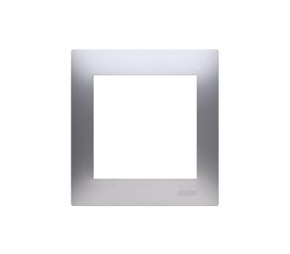 Ramka 1- krotna srebrny mat, metalizowany DR1/43