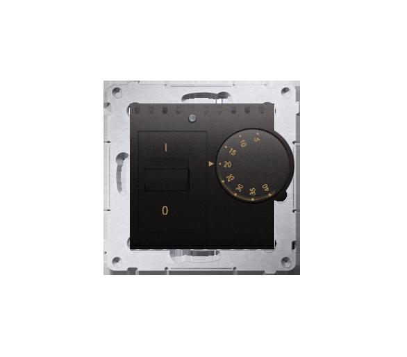 Regulator temperatury z czujnikiem wewnętrznym antracyt, metalizowany