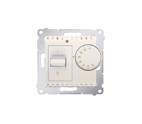 Regulator temperatury z czujnikiem wewnętrznym kremowy