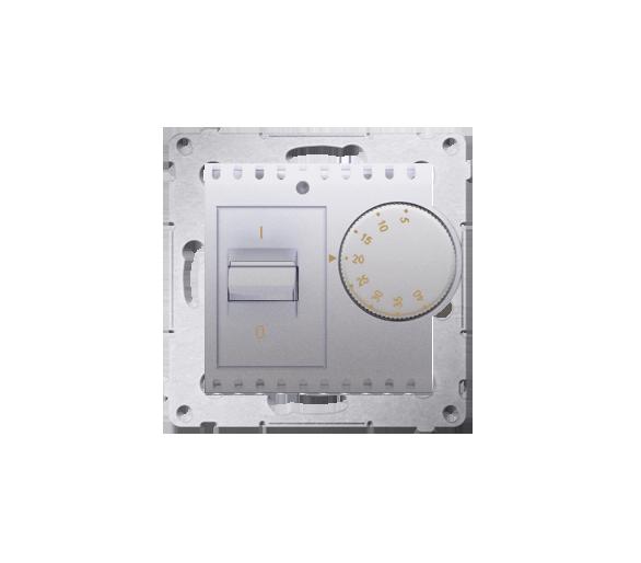 Regulator temperatury z czujnikiem wewnętrznym srebrny mat, metalizowany