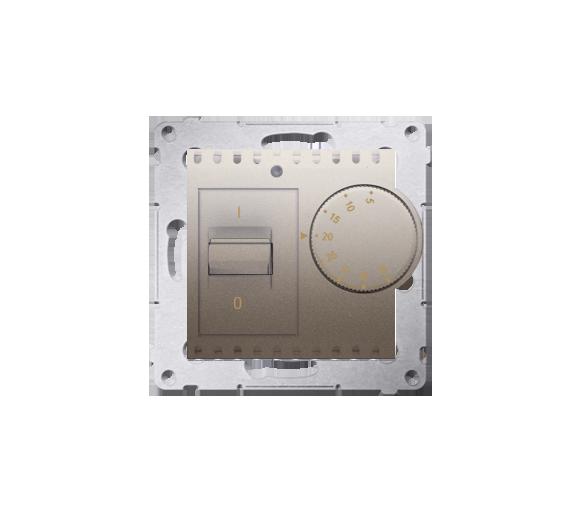 Regulator temperatury z czujnikiem wewnętrznym złoty mat, metalizowany