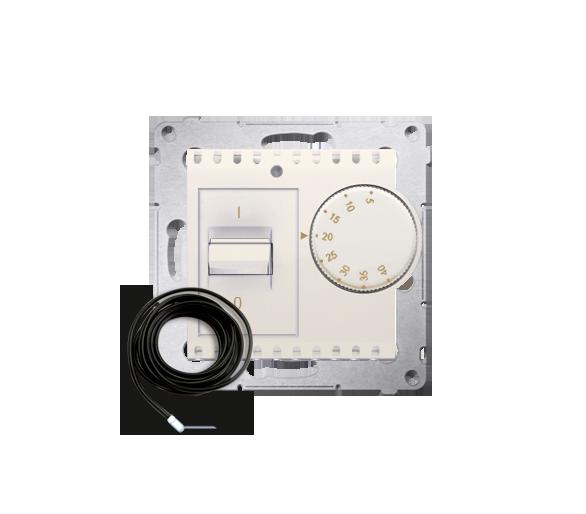 Regulator temperatury z czujnikiem zewnętrznym kremowy DRT10Z.02/41