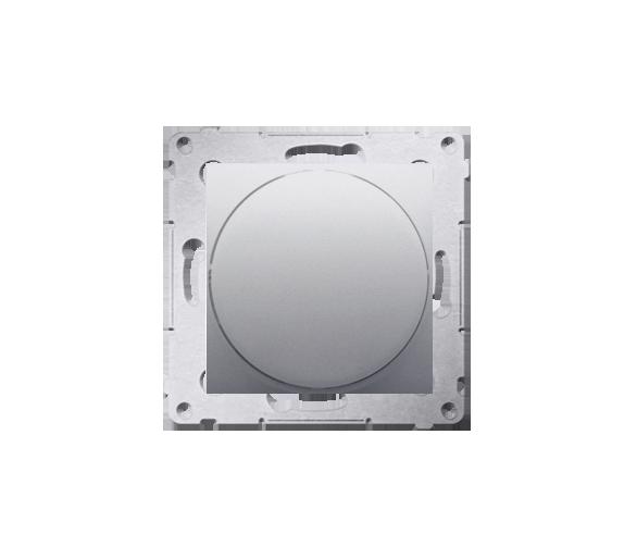 Sygnalizator świetlny LED - światło czerwone srebrny mat, metalizowany