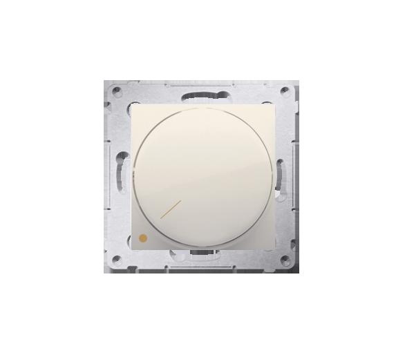 Ściemniacz do LED ściemnialnych, obrotowy, dwubiegunowy kremowy DS9L2.01/41
