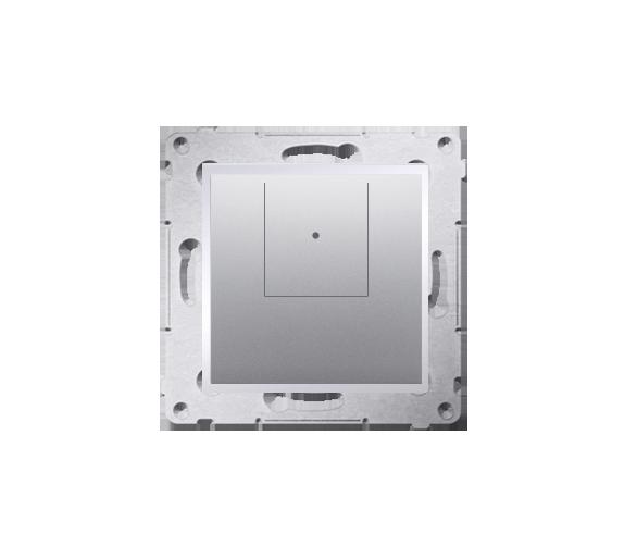 Ściemniacz dwuprzyciskowy srebrny mat, metalizowany D75310.01/43