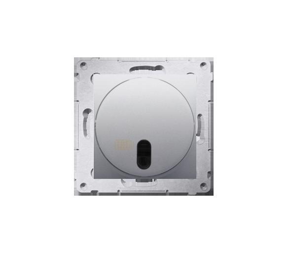 Ściemniacz naciskowy i zdalnie sterowany srebrny mat, metalizowany DS13T.01/43