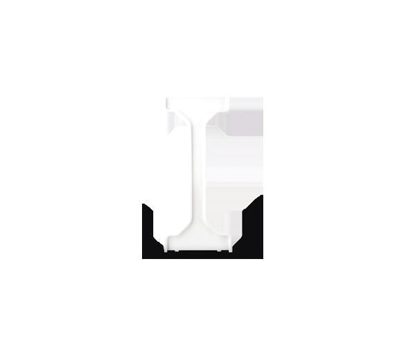 Wkładka uszczelniająca do łączników 2-klawiszowych IP44 biały DU1W