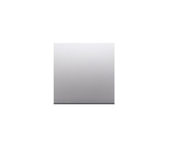 Zaślepka bez mostka srebrny mat, metalizowany