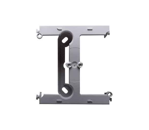 Puszka natynkowa – element rozszerzający puszkę pojedynczą składaną do ramek wielokrotnych inox, metalizowany PSH/21