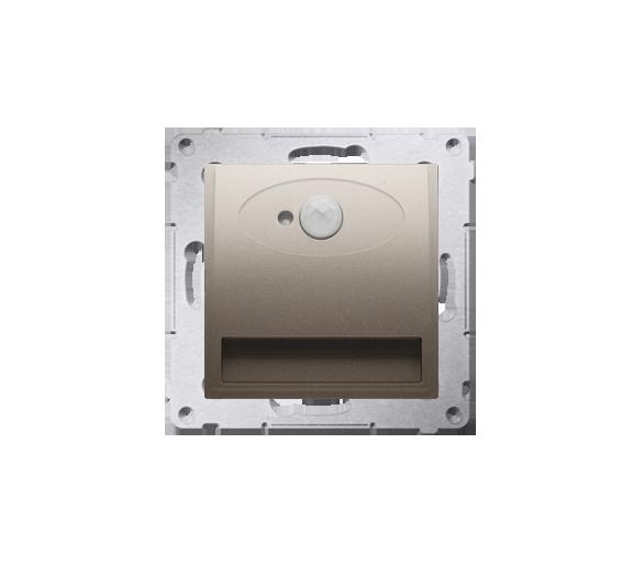 Oprawa oświetleniowa LED z czujnikiem ruchu, 230V złoty mat, metalizowany DOSCA.01/44