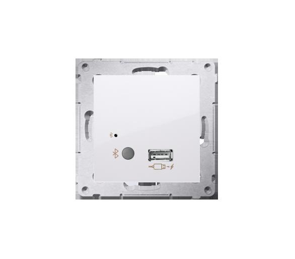 Odbiornik Bluetooth z ładowarką USB biały D7501385.01/11