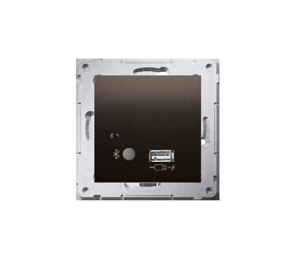 Odbiornik Bluetooth z ładowarką USB brąz mat, metalizowany D7501385.01/46