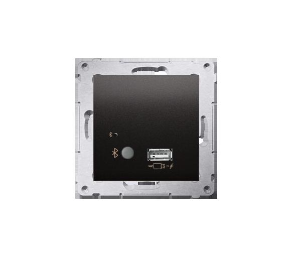 Odbiornik Bluetooth z ładowarką USB antracyt, metalizowany D7501385.01/48