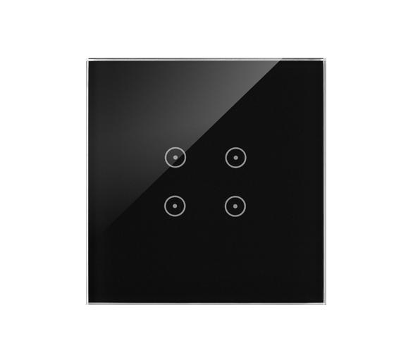 Panel dotykowy 1 moduł 4 pola dotykowe, zastygła lawa DSTR14/73