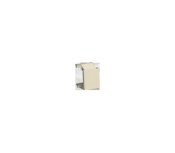 Zaślepka otworu wtyku RJ45/RJ12  pokrywy gniazda teleinformatycznego beżowy BWB/12