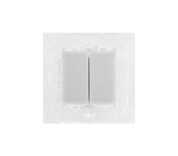 Przycisk podwójny sterujący do ST2M, do tworzenia układu schodowego lub krzyżowego ST2S