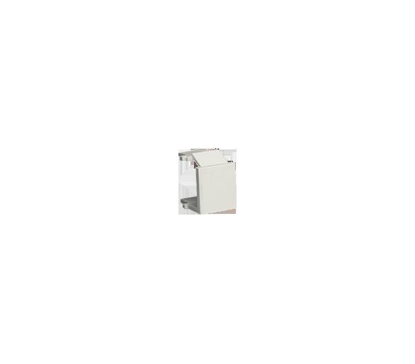 Zaślepka otworu wtyku RJ45/RJ12  pokrywy gniazda teleinformatycznego ecru BWB/10