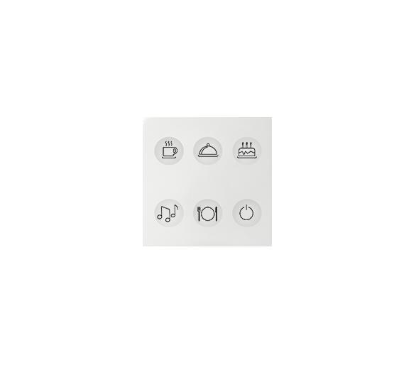 Klawiatura Sense biały Ikony:Custom T2 8000664-030