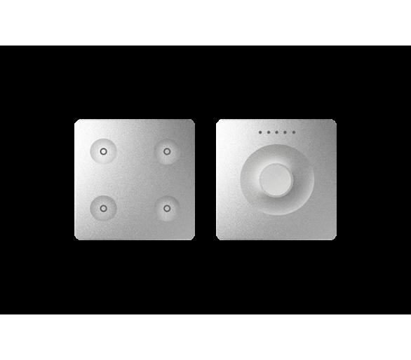 Klawiatura Sense&Slide aluminium Ikony:Regular 8400651-093