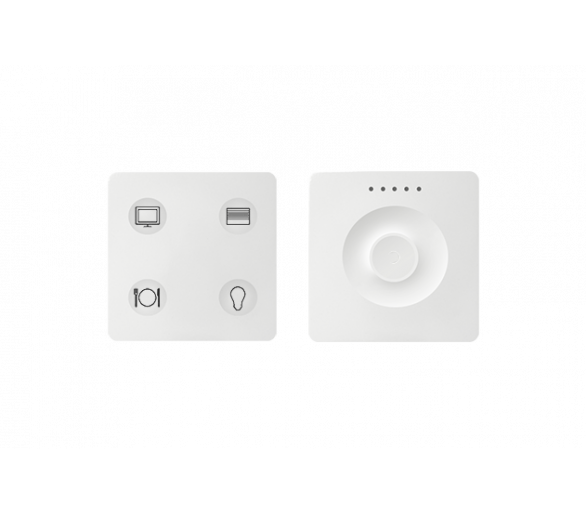 Klawiatura Sense&Slide biały Ikony:Custom T3 8400655-030