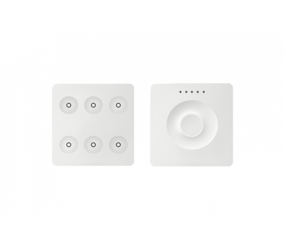 Klawiatura Sense&Slide biały Ikony:Regular 8400671-030
