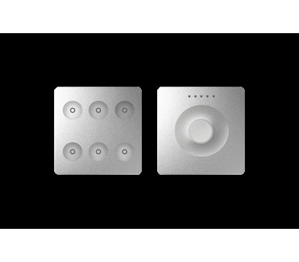 Klawiatura Sense&Slide aluminium Ikony:Regular 8400671-093
