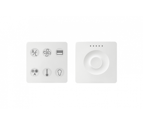 Klawiatura Sense&Slide biały Ikony:Custom T2 8400674-030