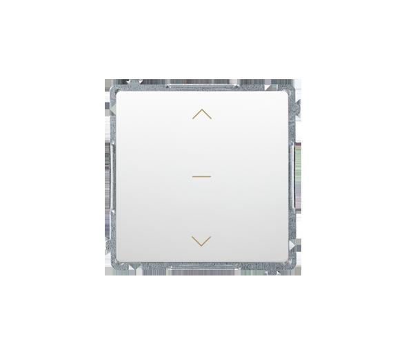 Łącznik żaluzjowy pojedynczy trójpozycyjny (1-0-2) (moduł) 10A 250V, szybkozłącza, biały BMZW1K.01/11