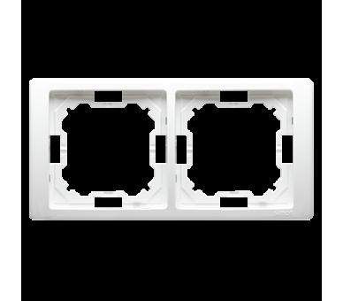 Ramka 2- krotna biały BMRC2/11