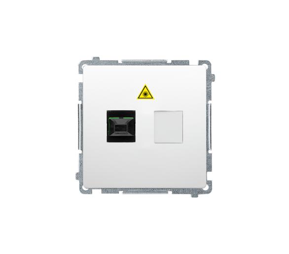 Gniazdo światłowodowe / optyczne podwójne biały BMGS1.01/11